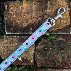 Handmade Rudi Dog Lead (Aztec)