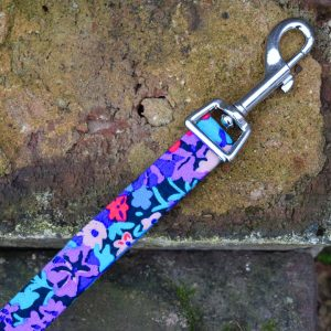 Winter Floral Dog Lead