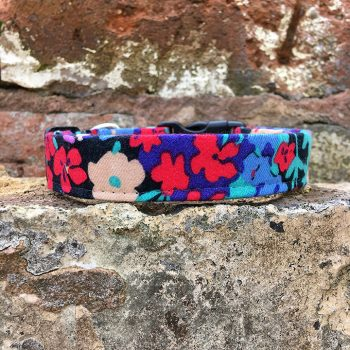 Handmade, dog collar, dog accessories, lead, floral