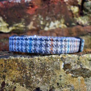 Dogtooth Tweed Dog Collar