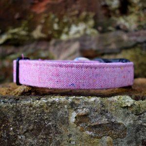 Pink Marl Dog Collar
