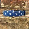 Denim Stars Dog Collar, Handmade dog collars and leads - Denim Stars
