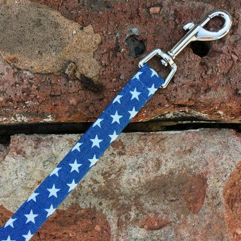 Handmade, dog collar, dog accessories, stars, denim, lead