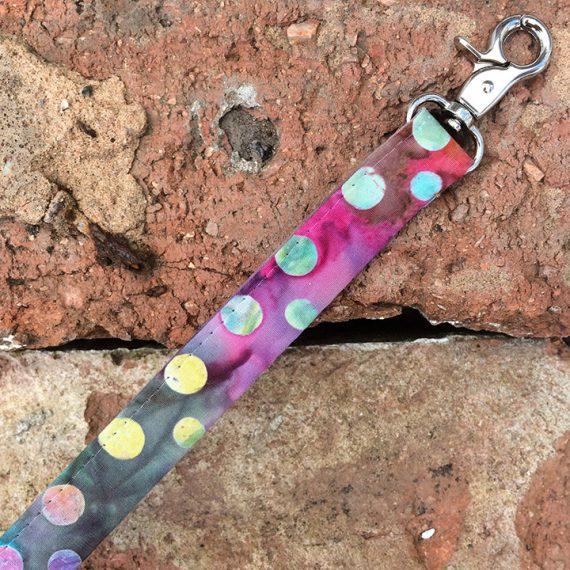 Tie Dye Dog Lead, Handmade dog collars and leads - Tie-Dye