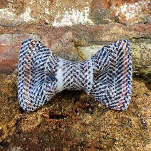Confetti Tweed Dog Bow Tie