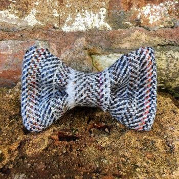 handmade, dog collar, dog accessories, tweed, bow tie, dickie bow
