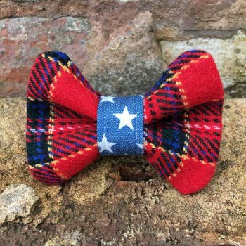 handmade, dog accessories, dog bow tie, dog collars, dog accessories, tartan, denim, stars, christmas