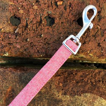 Red Marl Dog Lead, red marl, spring range, handmade, dog lead, red lead, dog accessories, red