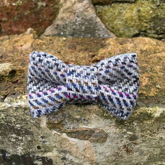 handmade, dog accessories, tweed, dog bow tie, dickie bow