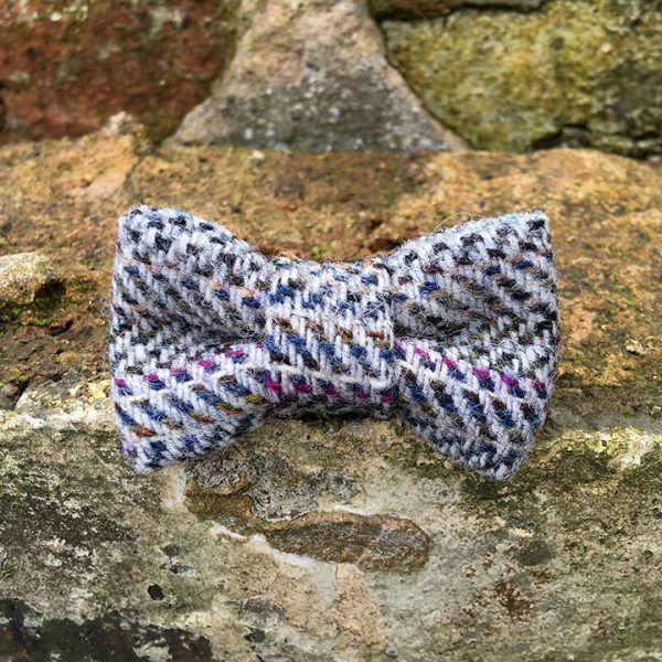 handmade, dog accessories, tweed, dog bow tie, dickie bow