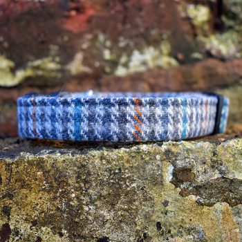 Dogtooth Tweed Dog Collar, Tweed, spring range, handmade, dog collar, tweed collar, dog accessories, dogtooth