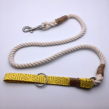 dog lead, bananarama, handmade, british, dog accessories