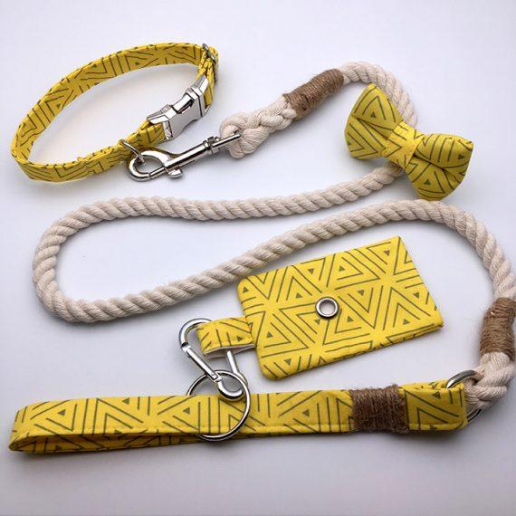 dog collar, bananarama, handmade, british, dog accessories